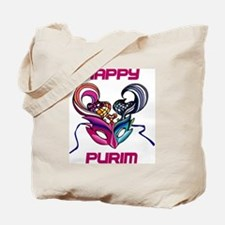 Purim Mask Tote Bag