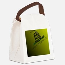 Dont Tread On Me Back All-Over Canvas Lunch Bag