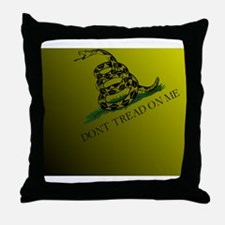 Dont Tread On Me Back All-Over Throw Pillow