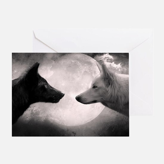 Best selling wolf Greeting Card