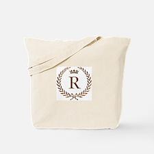 Napoleon initial letter R monogram Tote Bag