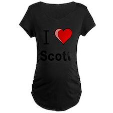 i love Scott heart tee T-Shirt