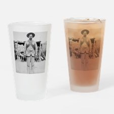 Pancho Villa Drinking Glass