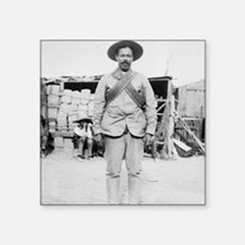 """Pancho Villa Square Sticker 3"""" x 3"""""""