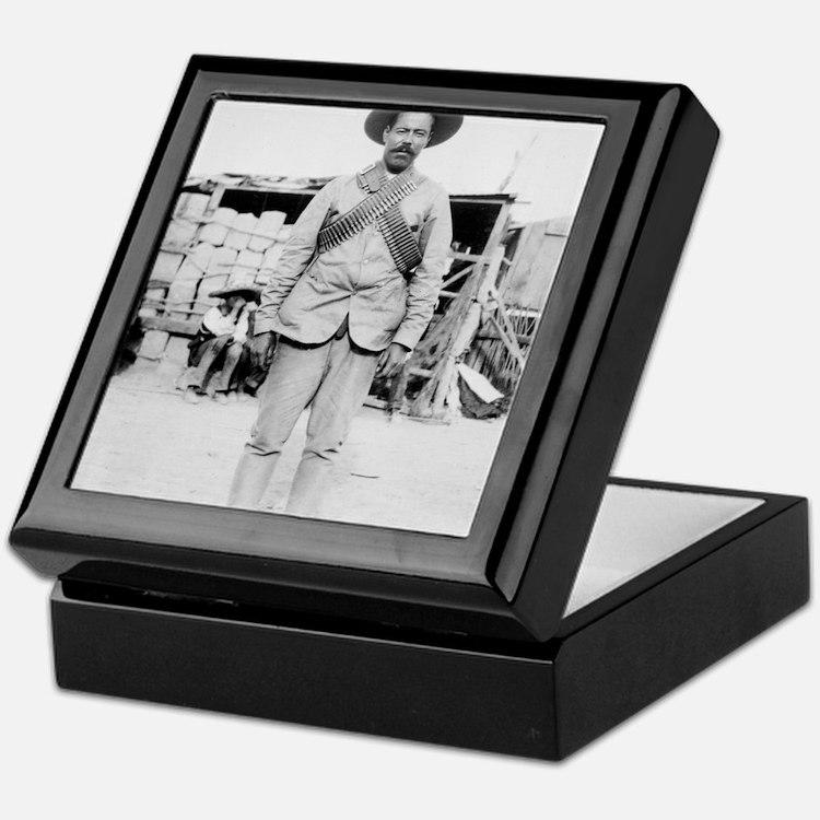 Pancho Villa Keepsake Box