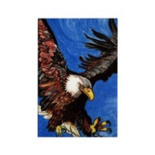 Bald Eagle Rectangle Magnet