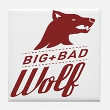 surlalune_logo_color_wolf Tile Coaster