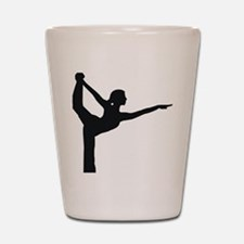 Bikram Yoga Bow Shot Glass