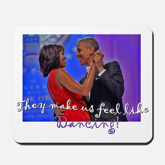 Dancing Obamas 2013 Mousepad