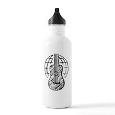 Icon White Sports Water Bottle