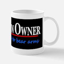 Proud Gun Owner Small Small Mug