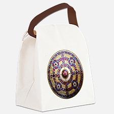 Kingston Brooch Canvas Lunch Bag
