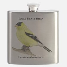 Iowa State Bird Flask
