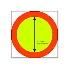 "35circle_200dpi Square Sticker 3"" x 3"""