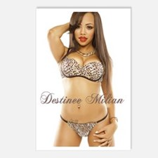 Destinee Milian Postcards (Package of 8)