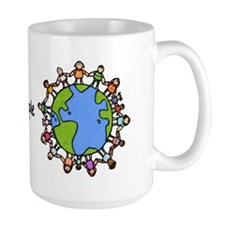 one world,one people Mug