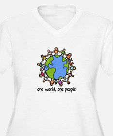 one world,one people T-Shirt