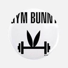 """Gym Bunny 3.5"""" Button"""