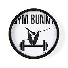 Gym Bunny Wall Clock