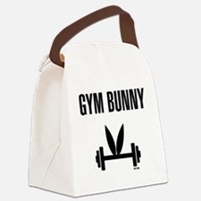 Gym Bunny Canvas Lunch Bag