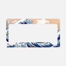 The Great Wave off Kanagawa License Plate Holder