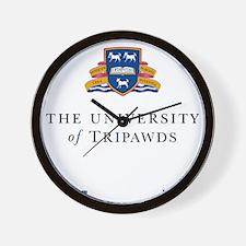 Tripawds University Wall Clock