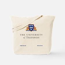 Tripawds University Tote Bag