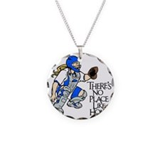 blue No Place Like Home Necklace