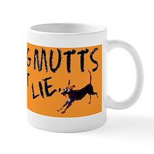 rescue dog bumper sticker Mug