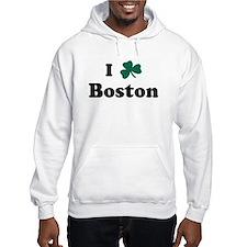 I Shamrock Boston Hoodie