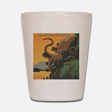 Tree Octopus - New Dawn - Magnet Shot Glass