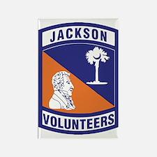 Jackson Volunteers Rectangle Magnet