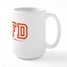 SAFD Athletics Red Mug