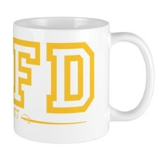 SAFD Athletics Yellow Mug