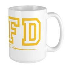 SAFD Athletics Yellow Mug