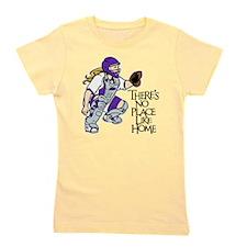 Purple No Place Like Home Girl's Tee