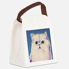 Pop art cat Canvas Lunch Bag