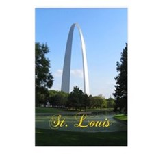 StLouis_7x10_Tall_Gateway Postcards (Package of 8)