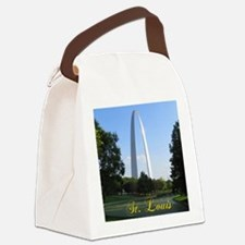 StLouis_7x10_Tall_GatewayArch_col Canvas Lunch Bag