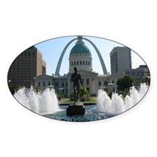 StLouis_10x8_Rect_DowntownStLouis_O Decal
