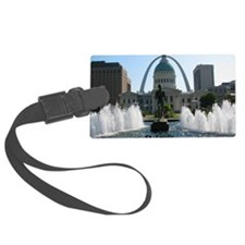 StLouis_10x8_Rect_DowntownStLoui Luggage Tag
