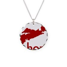 Home (red) Necklace