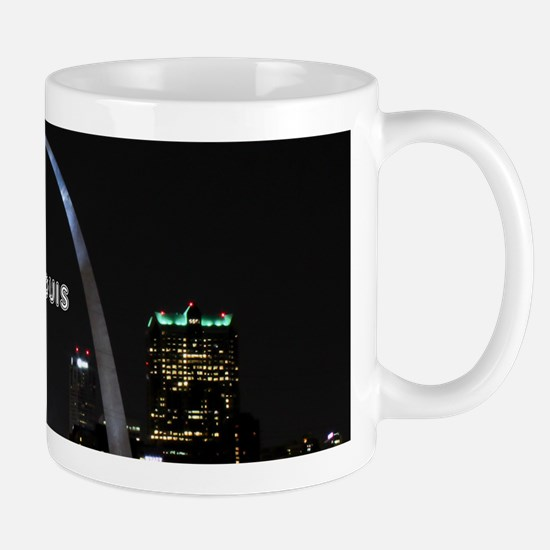 StLouis_12x12_GatewayArchNight_color_sm Mug