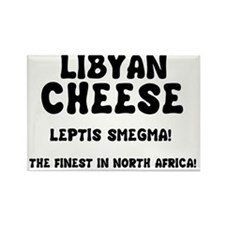LIBYAN CHEESE - LEPTIS SMEGMA Rectangle Magnet