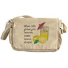 Lemon Drop Martini Messenger Bag