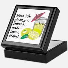 Lemon Drop Martini Keepsake Box