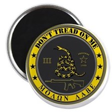 Dont Tread On Me (Yellow/Grey) Magnet