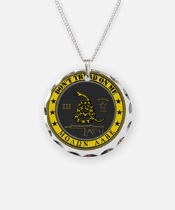 Dont Tread On Me (Yellow/Gre Necklace
