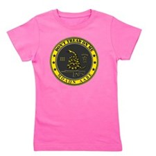 Dont Tread On Me (Yellow/Grey) Girl's Tee