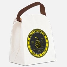 Dont Tread On Me (Yellow/Grey) Canvas Lunch Bag